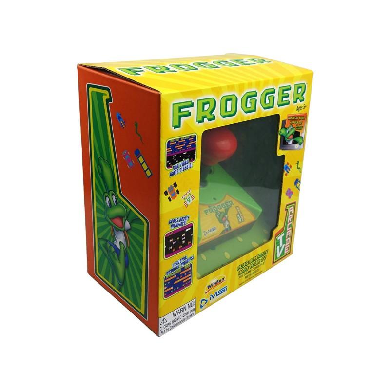 Consola Frogger TV Arcade Plug and Play