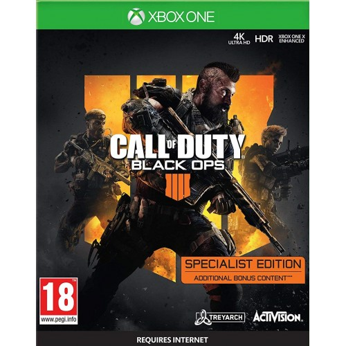 Call of Duty Black Ops 4 Specialist Edition Xbox One