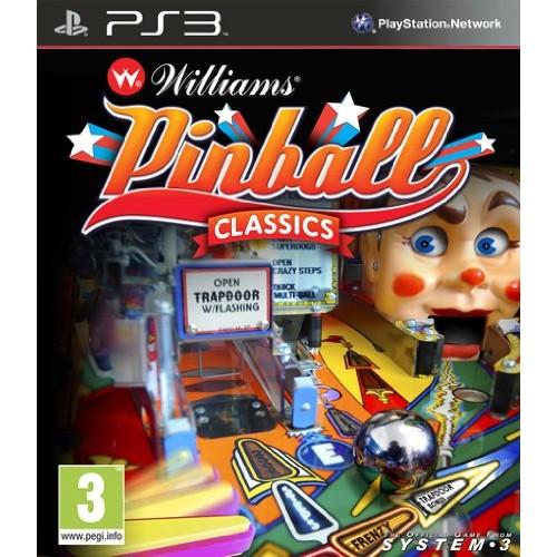 Williams Pinball Classics PS3