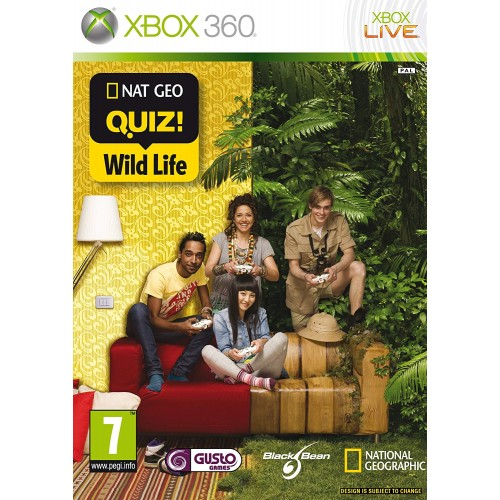 Nat Geo Quiz! Wild Life Xbox 360