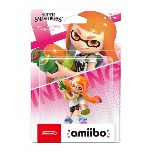 Amiibo Super Smash Bros. Inkling Girl nº64