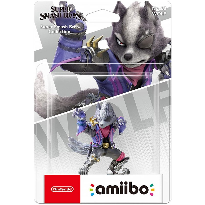 Amiibo Super Smash Bros. Wolf nº63