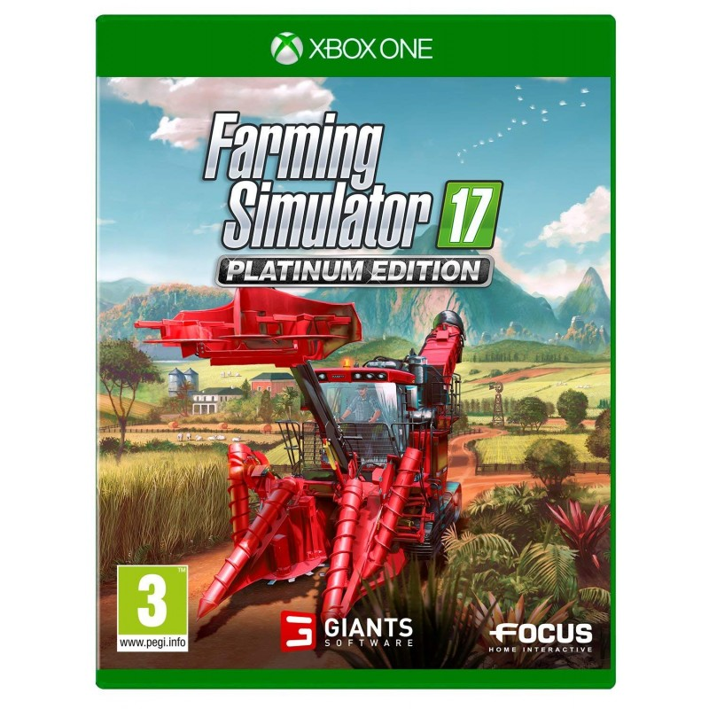 Farming Simulator 17 Platinum Edition Xbox One