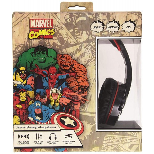 Headset Indeca Marvel Comics PS3 (Multiplataforma)