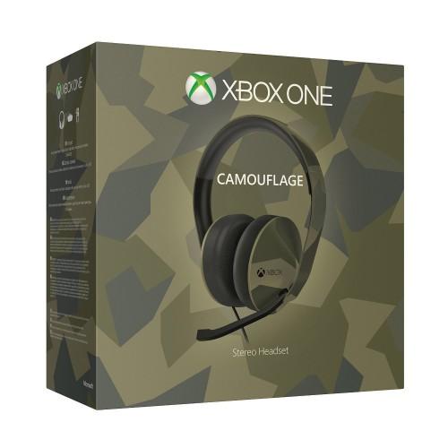 Headset Microsoft Camouflage (com fios) Xbox One