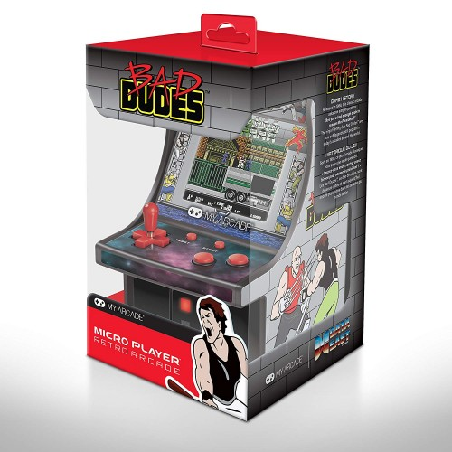 Consola Retro Arcade Micro Player Bad Dudes