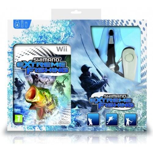 Shimano Extreme Fishing + Cana Nintendo Wii