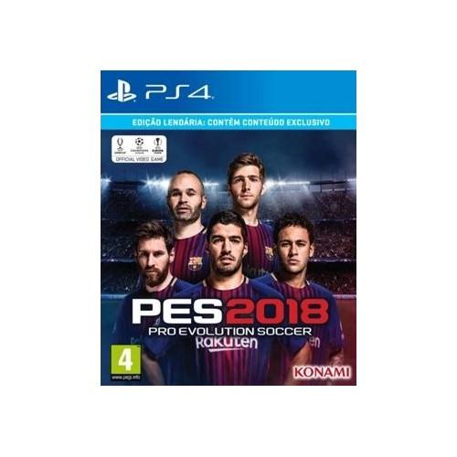 Pro Evolution Soccer PES 2018 Legendary Edition PS4