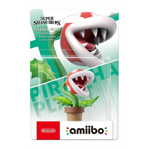 Amiibo Super Smash Bros. Piranha Plant nº66