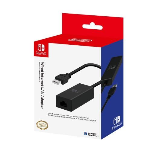 Adaptador Hori Internet LAN (com fios) Nintendo Switch