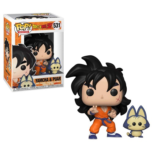 Figura Funko POP Dragon Ball Z Yamcha & Puar 531