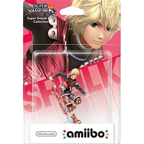 Amiibo Super Smash Bros. Shulk Nº25