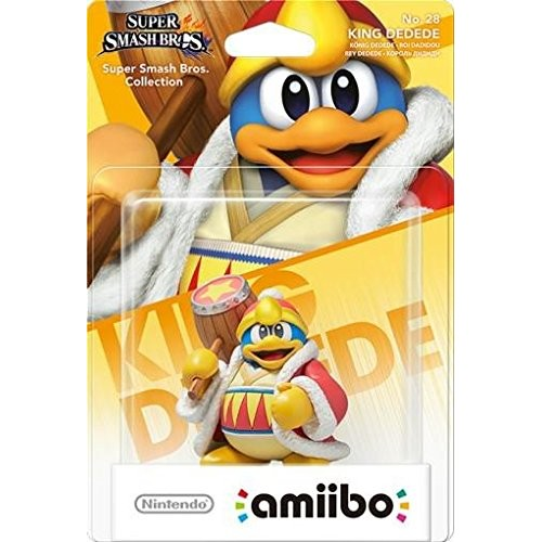 Amiibo Super Smash Bros. King Dedede Nº28