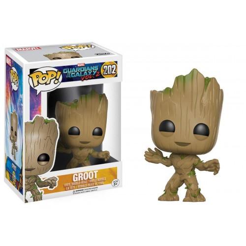 Figura Funko Pop Guardians of the Galaxy Vol.2 Groot 202