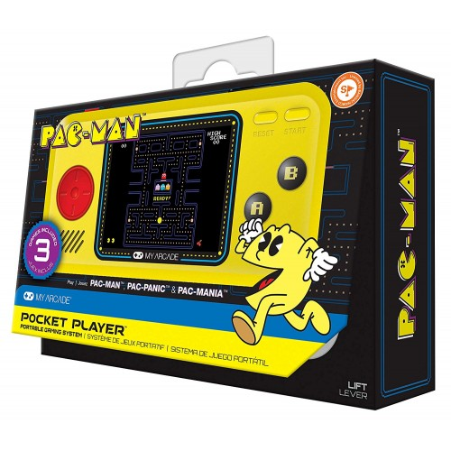 Consola My Arcade Pocket Player Pac Man