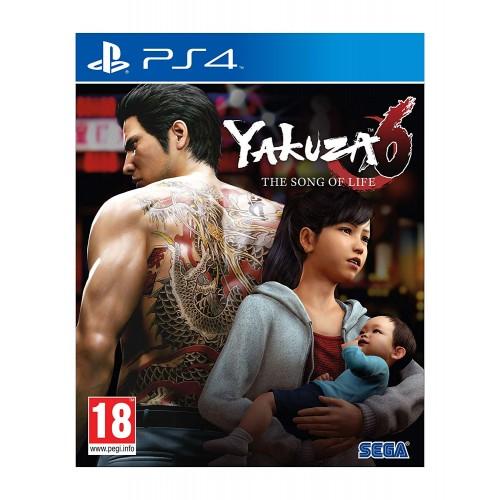 Yakuza 6 The Song of Life PS4