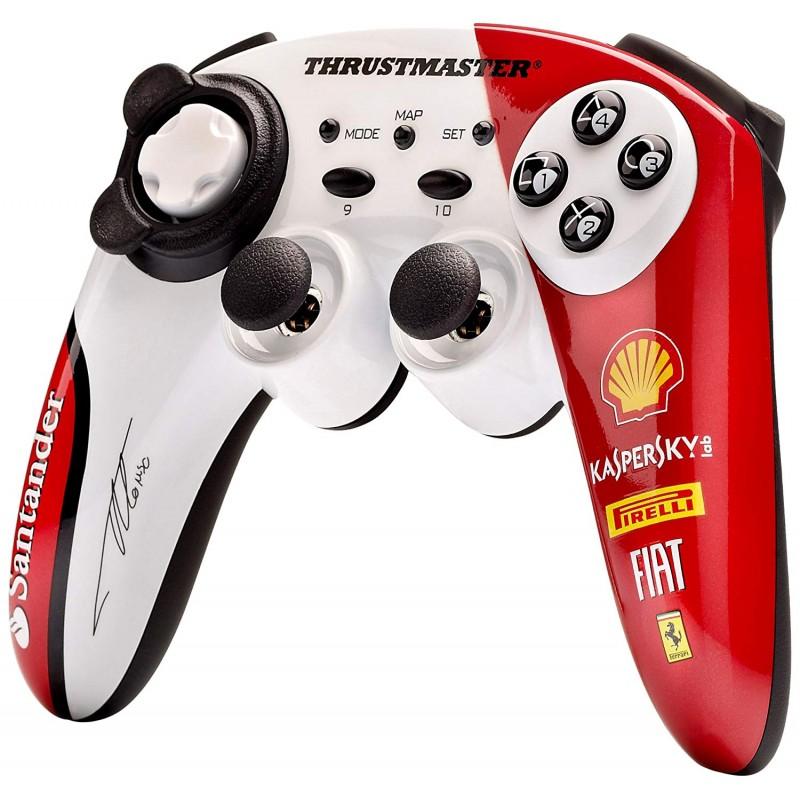 Comando Wireless Thrustmaster F1 Ferrari Alonso PS3 & PC