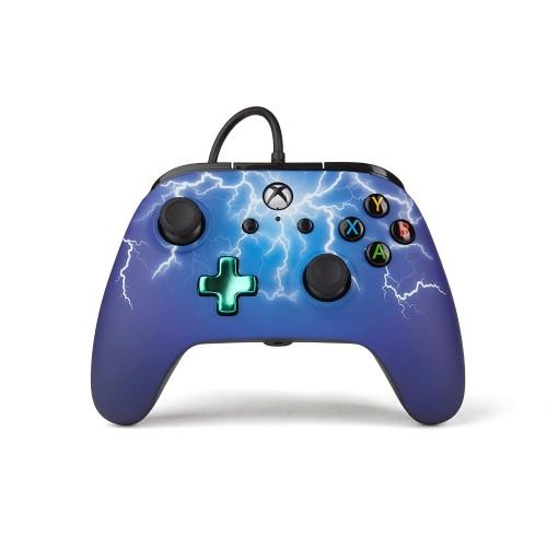Comando PowerA Spider Lightning Xbox One (com fios)