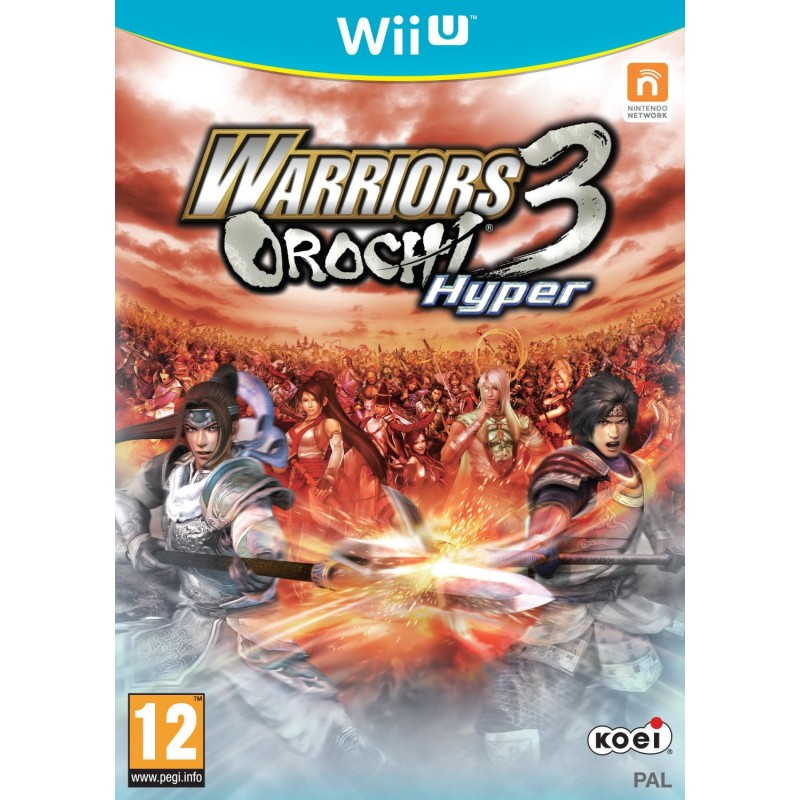 Warriors Orochi 3 Hyper Wii U