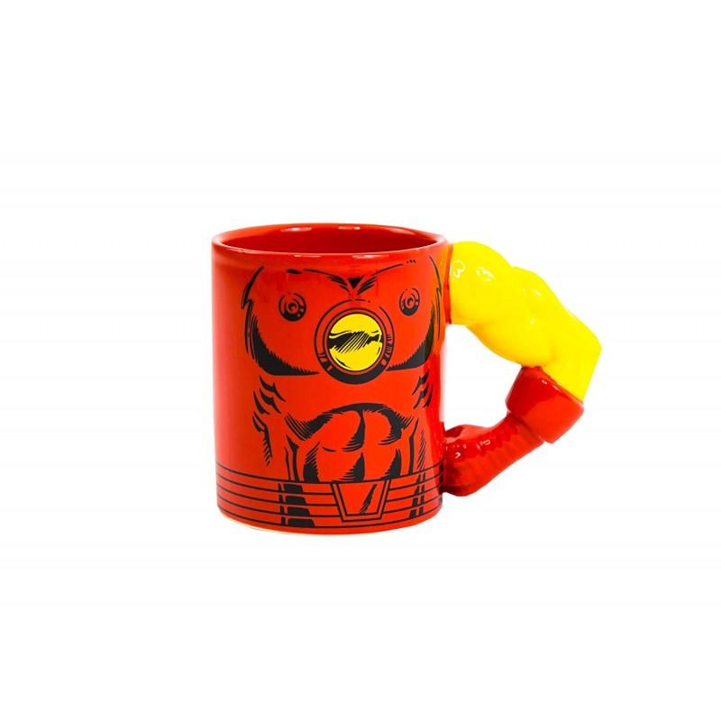 Caneca Meta Mugs Marvel Iron Man 350ml