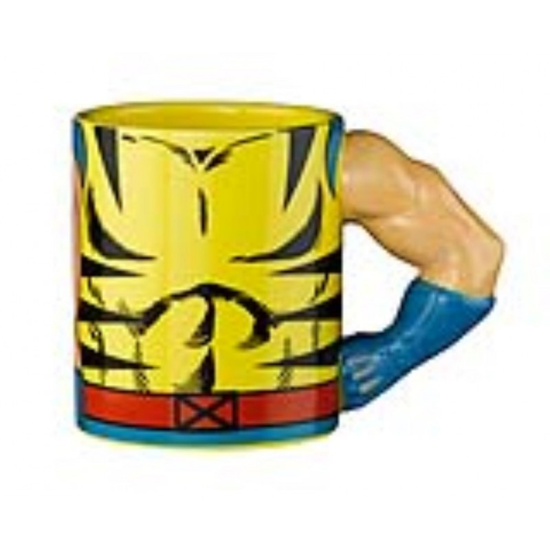 Caneca Meta Merch Marvel X-Men Wolverine 350ml