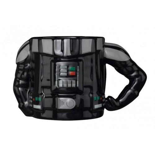 Caneca Meta Merch 3D Star Wars Darth Vader 400ml
