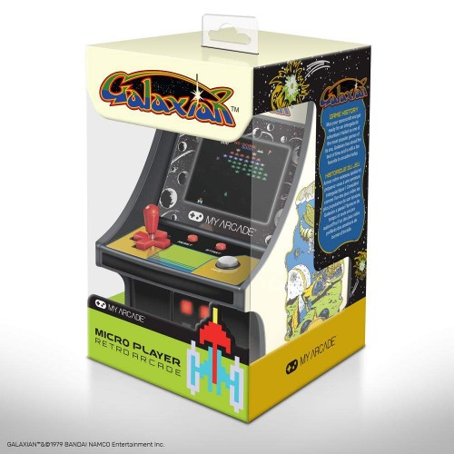 Consola Retro Arcade Micro Player Galaxian