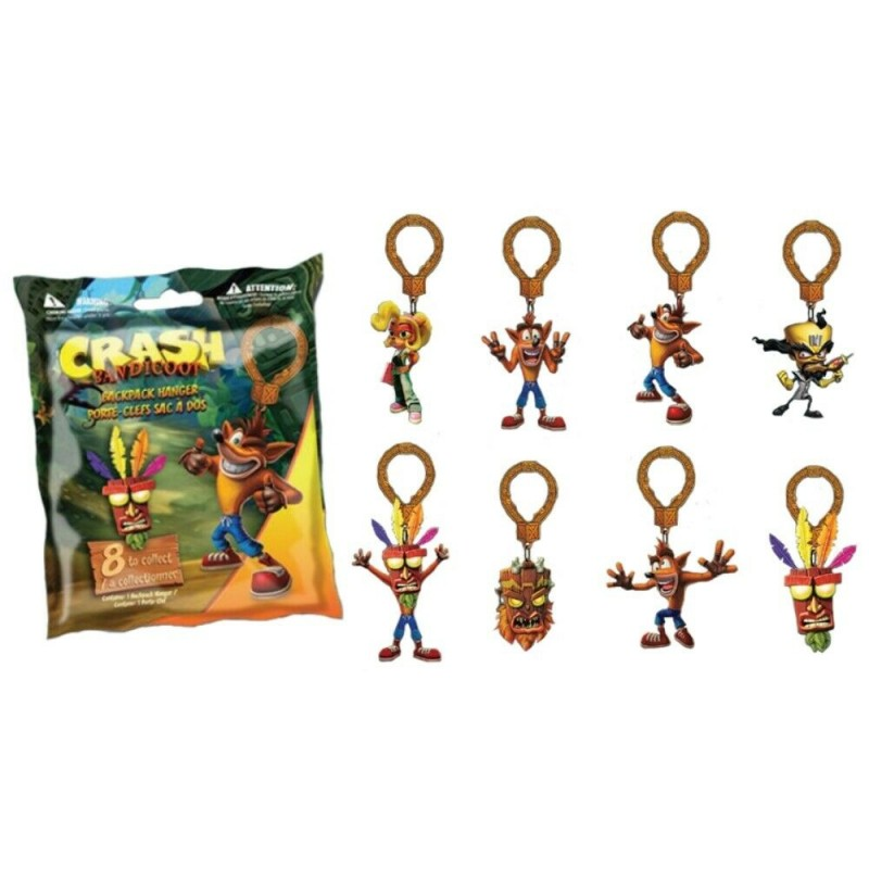 Porta Chaves Backpack - Crash Bandicoot (Envio Aleatório)