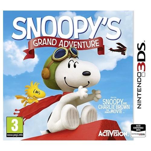 Snoopy's Grand Adventure USADO Nintendo 3DS