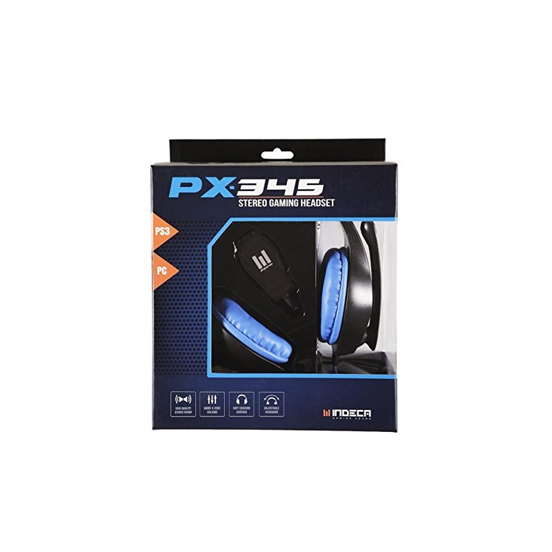 Headset PX-345 Indeca + Call of Duty Ghosts PS3