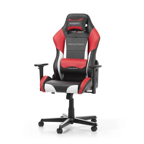 Cadeira DXRacer Drifting D61 Preto/Vermelho/Branco