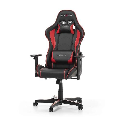 Cadeira DXRacer Formula F08 Preto/Vermelho
