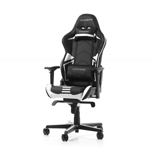 Cadeira DXRacer Racing Pro R131 Preto/Branco