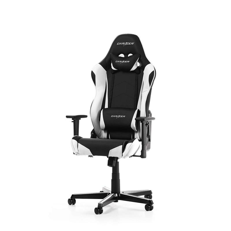 Cadeira DXRacer Racing R0 Preto/Branco