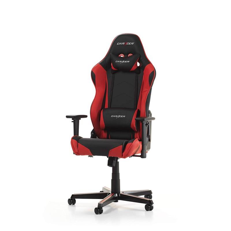 Cadeira DXRacer Racing R0 Preto/Vermelho