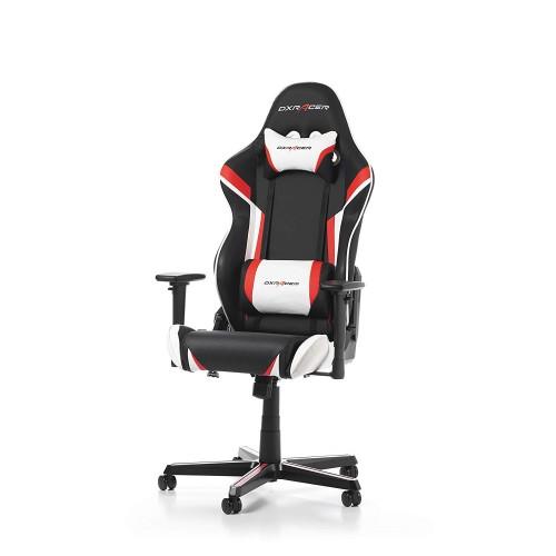 Cadeira DXRacer Racing R288 Preto/Vermelho/Branco (Envio em 2 dias úteis)