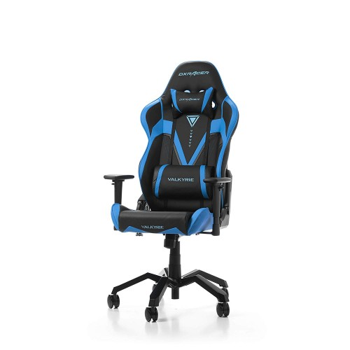 Cadeira DXRacer Valkyrie V03 Preto/Azul