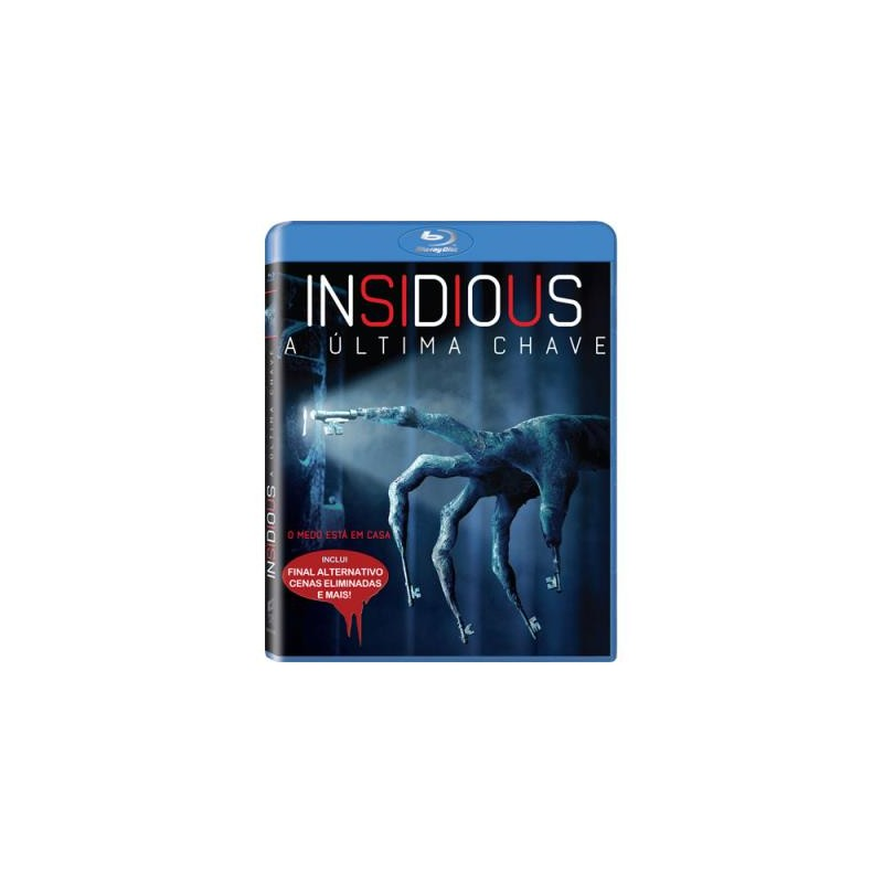 Insidious A Ultima Chave Blu-ray