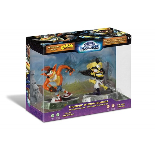 Skylanders Imaginators Thumpin' Whumpa Islands (Crash + Dr. Cortex)