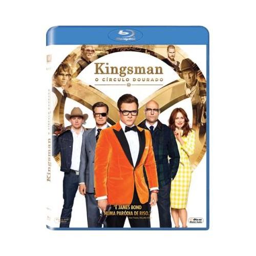 Kingsman O Círculo Dourado Blu-Ray