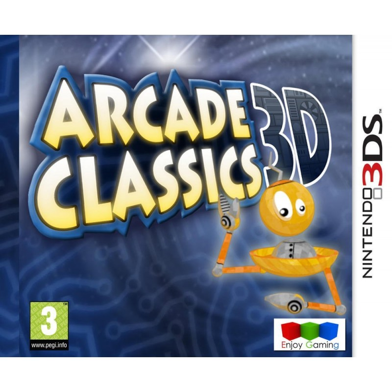 Arcade Classics 3D Nintendo 3DS
