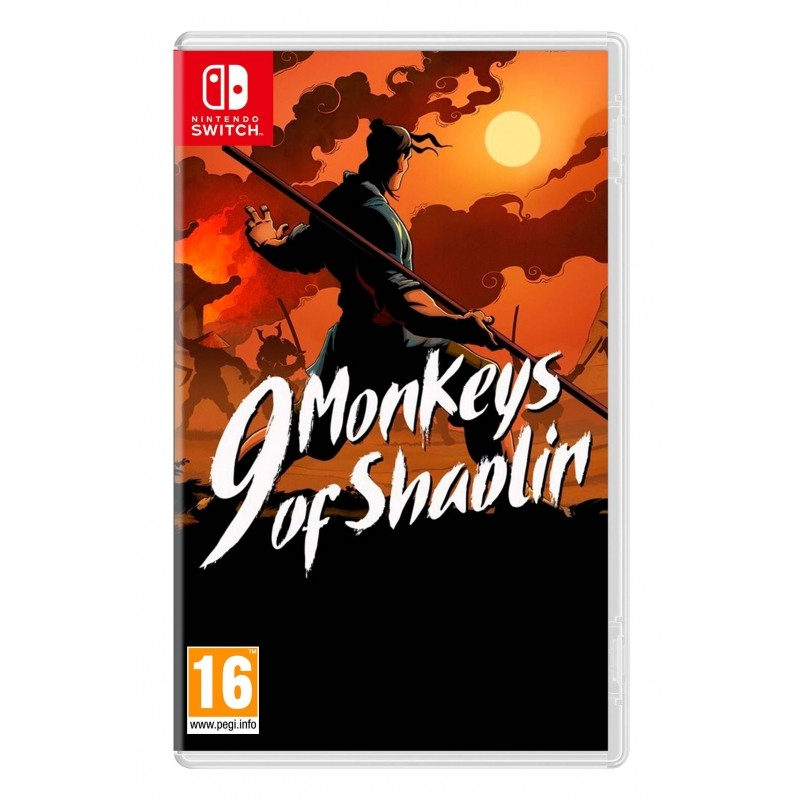 9 Monkeys of Shaolin Nintendo Switch