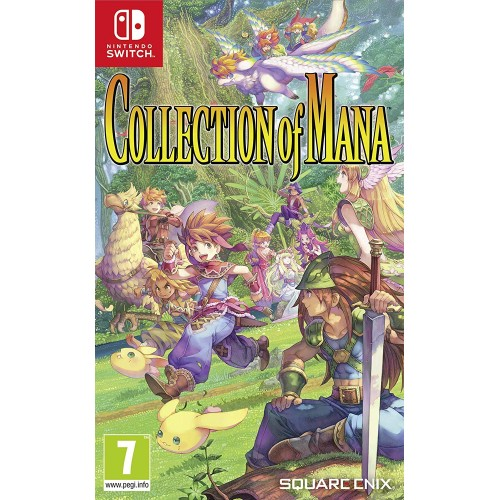 Collection of Mana Nintendo Switch (Disponível 27/08/2019)
