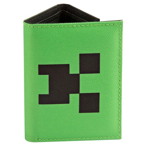 Carteira Minecraft Tri-Fold Creeper