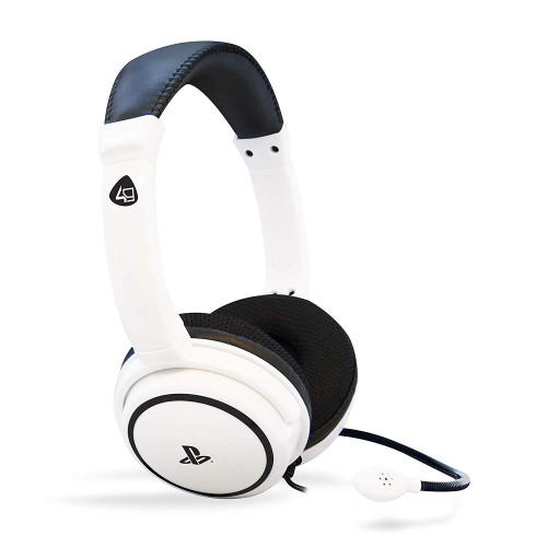 Headset com fios 4Gamers PRO 4 40 BRANCO PS4