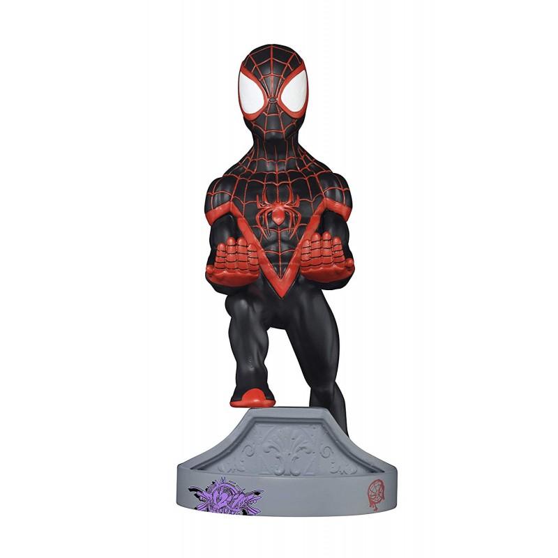 Carregador / Suporte Cable Guy Marvel Spider-Man Miles Morales