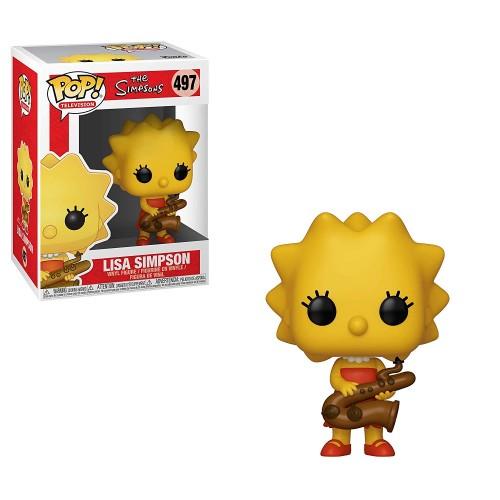Figura Funko Pop The Simpsons Lisa Simpson 497