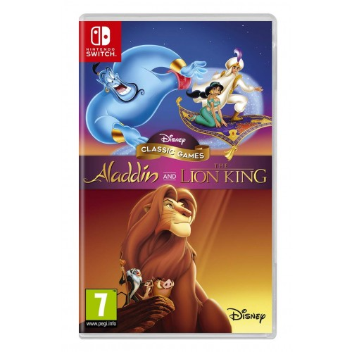 Disney Classic Games Aladdin and The Lion King Nintendo Switch