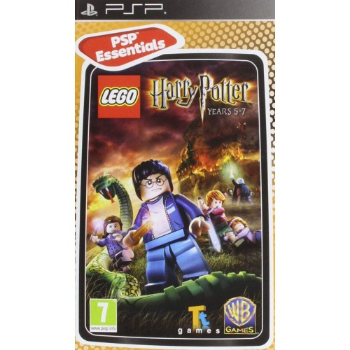 Lego Harry Potter Years 5-7 (essentials) USADO PSP
