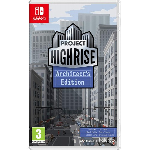 Project Highrise Architects Edition USADO Nintendo Switch